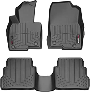 WeatherTech Custom Fit FloorLiner for Mazda CX-5-1st & 2nd Row (Black)