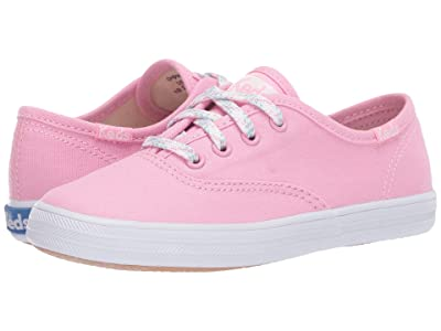 Keds Kids Original Champion CVO (Little Kid/Big Kid) (Pink 1) Girls Shoes