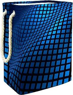 Vockgeng Cube ondulé Sac de Rangement Panier de Rangement imperméable Pliable de Jouets de Jouets de Panier avec des poign...