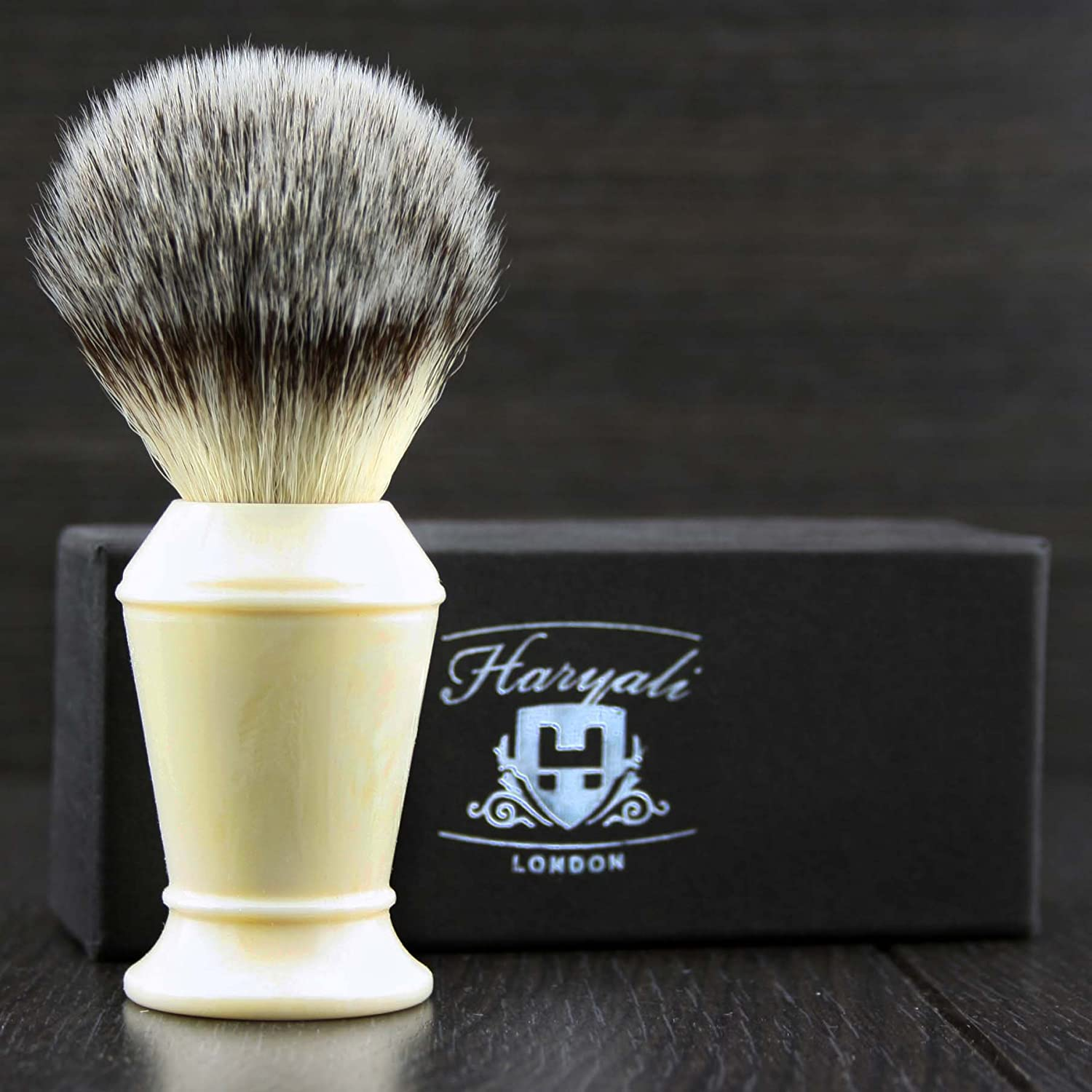 Soft Synthetic Hair Men's Attention brand Shaving in Handle.P Brush Colour Dealing full price reduction Ivory
