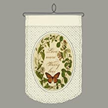 Heritage Lace Love Wall Hanging, Café