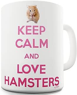 Twisted Envy Keep Calm And Love Hamsters Ceramic Mug