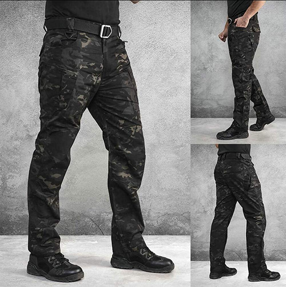 ANTARCTICA Mens Tactical Pants Water Repellent Ripstop Cargo Pants Military Army Combating Fishing Travel Hiking Casual