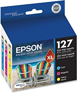 Epson DURABrite T127 Ultra 127 Extra High-capacity Inkjet Cartridge Bulk