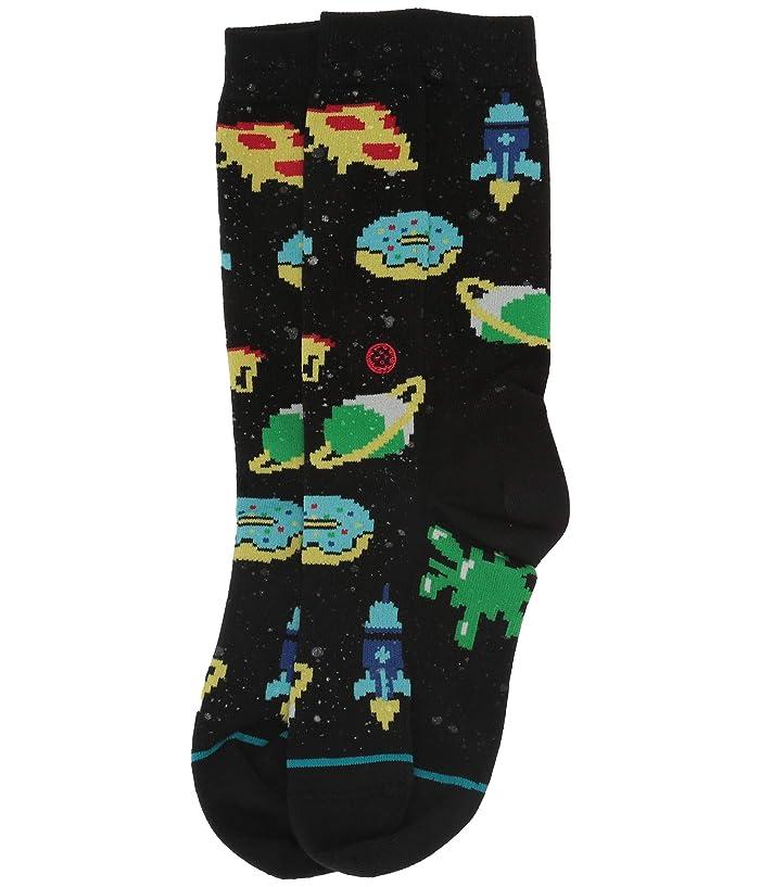 Stance Boys Fish Food Black /& Floral Crew Socks