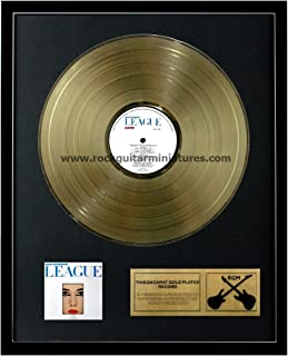 RGM1134 The Human League - Dare Gold Disc 24K Plated LP 12''