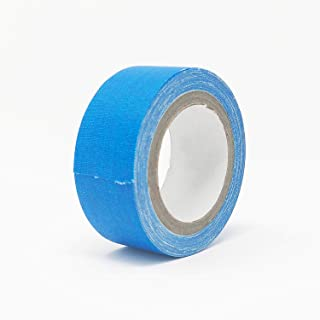 UV Blacklight Reactive Fluorescent Neon Gaffer Glow in The Dark Tape for Safety, Stairs, Parties and More (Blue, 1