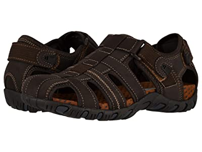 Nunn Bush Rio Bravo Fisherman Sandal (Brown) Men