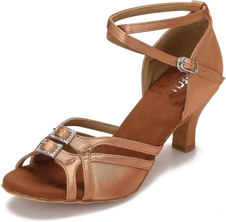Philadelphia Mall Los Angeles Mall CLEECLI Women's Ballroom Dance Shoes Dancing Latin Salsa A