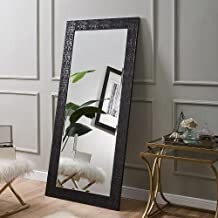 Naomi Home Mosaic Style Mirror Black/65.5