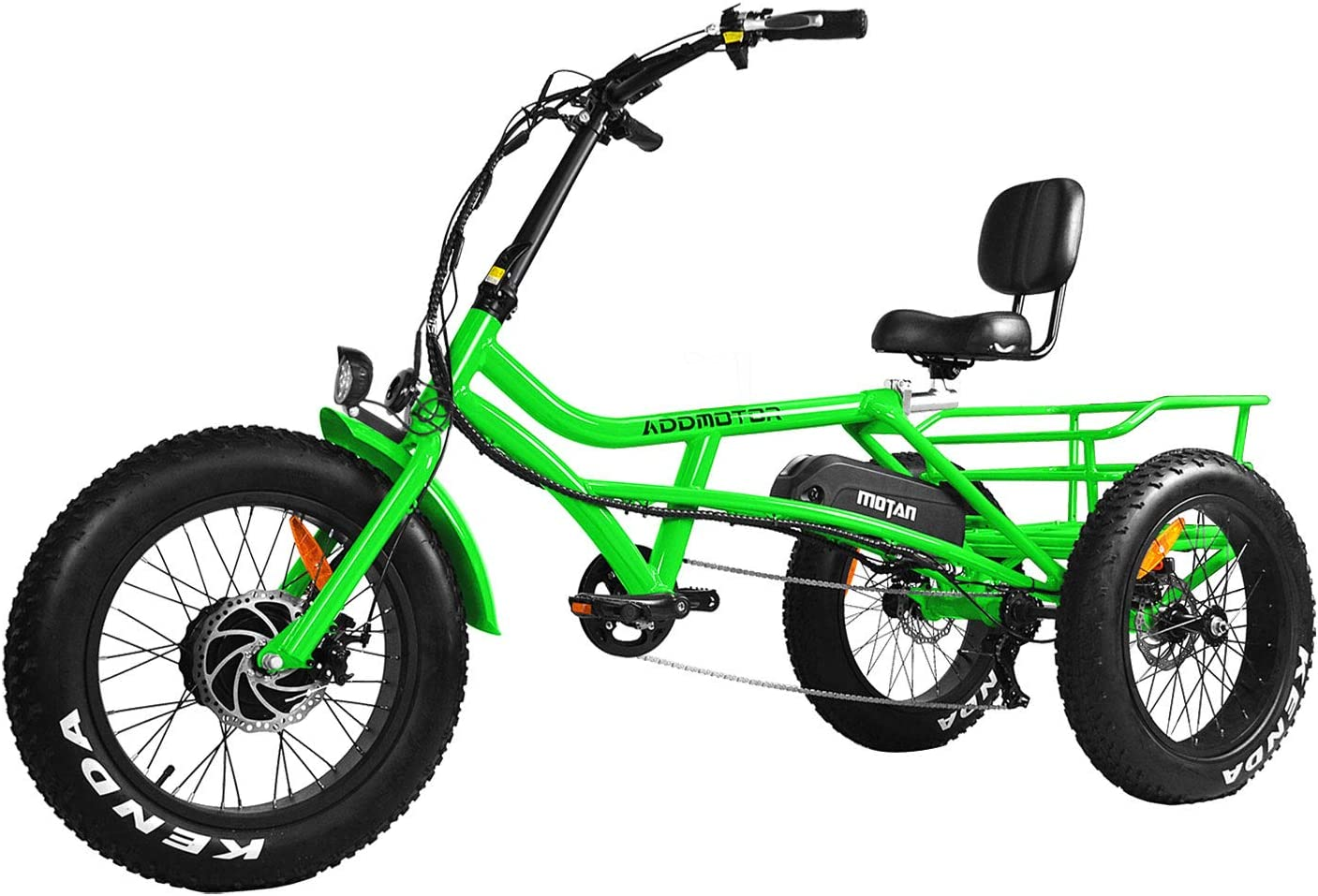 Addmotor Motan Electric Tricycle Adults 16Ah It is very popular 750W 48V Limited Special Price Removable