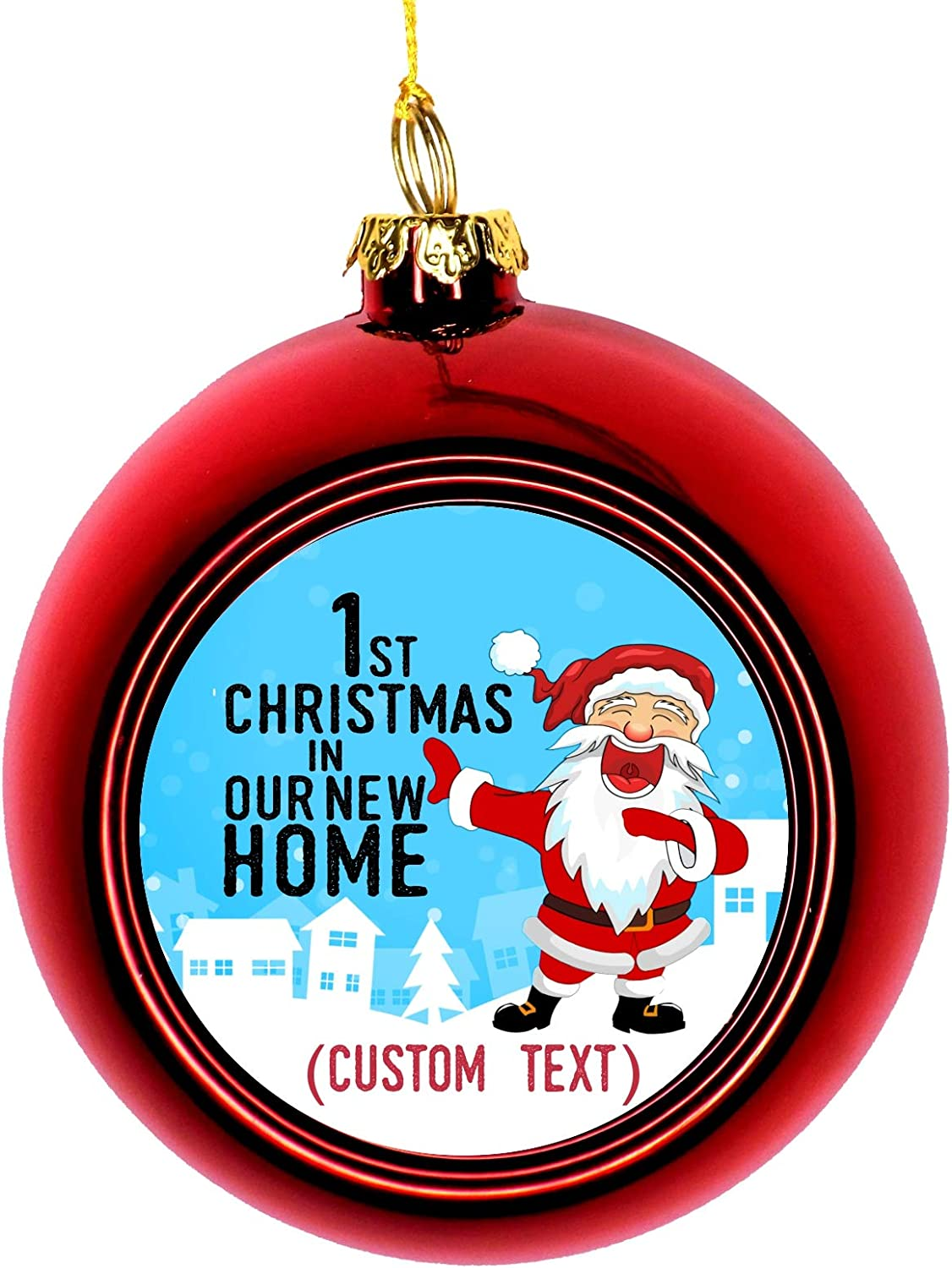 Lea Elliot Inc. Christmas House Ornaments Ho New - in San Antonio Mall First Over item handling ☆ Year