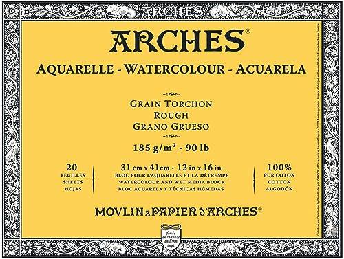 venta caliente en línea Maruman Arches waterColor paper block 31 x x x 41 3 Coarse 177-157 (japan import)  centro comercial de moda