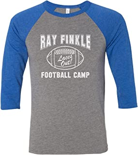 Ray Finkle Football Camp Laces Out Raglan Shirt