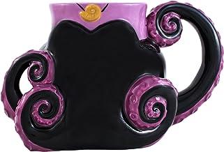 Silver Buffalo Disney Villain Ursula Tentacles 3D Sculpted Ceramic Mug, 20-ounces, Black