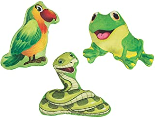 RAINFOREST PLUSH ANIMALS - Toys - 12 Pieces