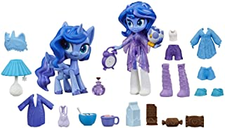 "My Little Pony Equestria Girls Princess Luna Potion Princess Set -- 3"" Mini Doll & Toy Pony Figure with 20 Accessories"