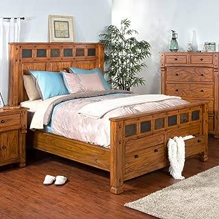 Sunny Designs 2322RO-Q Sedona Bed, Queen