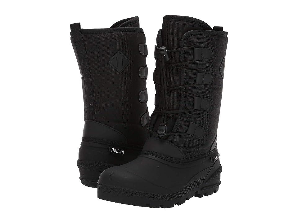 Tundra Boots Kids Burke (Little Kid/Big Kid) (Black) Kids Shoes