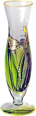 VICTORIA BELLA 43767 Vase fait main Héron en roseaux 30 cm
