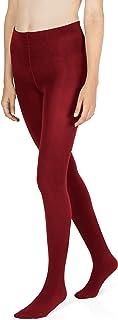 sockenkauf24 Damen THERMO Strumpfhose mit Innenfleece in 10 Farben extra warm Winter Strumpfhose