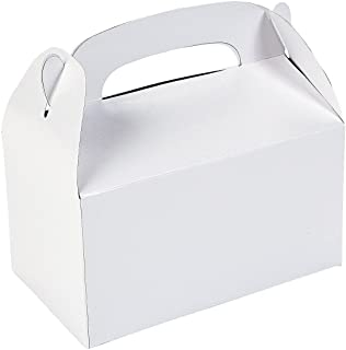 Fun Express Treat Boxes (2 Dozen), White