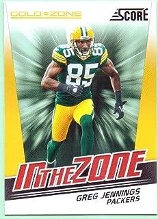 Greg Jennings 2011 Score Gold Zone #10 - Green Bay Packers