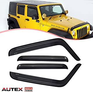 rain guards for jeep wrangler unlimited