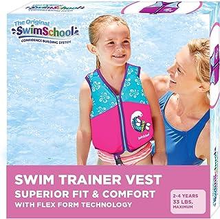 JIWINNER Swim Vests Flotation Jacket Swim Belt Learn to Swim Device Toddler Floaties Device for Pool 30-50 lbs