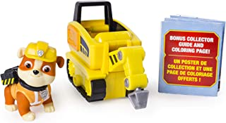 PAW Patrol Ultimate Rescue Rubble's Mini Jackhammer Cart with Collectible Figure, Ages 3 and Up
