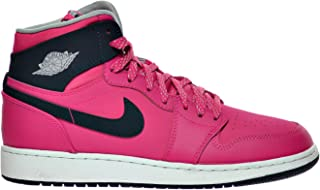9436737283defb Jordan Air 1 Retro High GG Big Kid s Shoes Vivid Pink Dark Obsidian Wolf