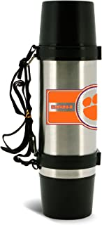 NCAA Clemson Tigers 40oz Double Wall Stainless Steel Outdoor Thermos
