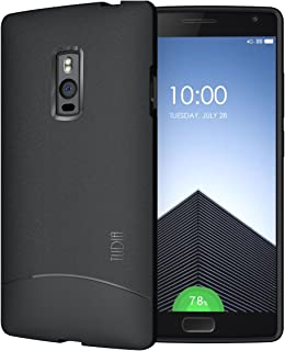 OnePlus 2 Case - TUDIA Full-Matte Arch TPU Bumper Protective Case for OnePlus Two (Black)