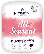 Slumberdown Alle seizoenen King Size Dekbedovertrek 4.5 Tog Plus King Size Dekbed 10.5 Tog 3 in 1 Combinatie Alle Seizoene...