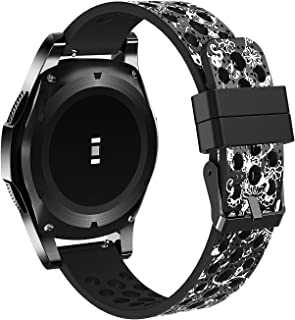 honecumi 22mm Watch Band Quick Release Watch Bands 22mm Universal Breathable Replacement Smart Watch Strap for Samsung Gear S3 Classic/Frontier for Men & Women