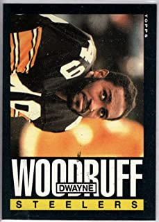 Football NFL 1985 Topps #366 Dwayne Woodruff Steelers