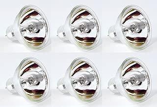 EiKO EKE Halogen Dichroic Reflector Bulb (Pack of 6), 21 Volts, 150 Watts, CC-6 Filament, 1.75