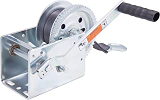 Goldenrod Dutton-Lainson DL2500AS 2500 lb Plated Pulling Winch with 25- Feet Strap