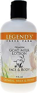 Oatmeal, Milk & Honey Goat Milk Lotion - 9 Oz Bottle - Paraben Free, Gentle & Natural For Sensitive Skin - Certified Cruel...