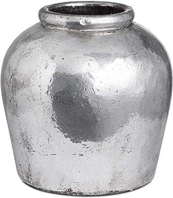 Hill 1975 Jarrón de cerámica metálica, Multicolor, Talla única