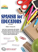 Spanish for Educators: with MP3 CD (Barron's Foreign Language Guides)