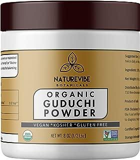 Naturevibe Botanicals USDA Organic Guduchi Powder (8 Ounces) - Tinospora Cordifolia - 100% Pure & Natural