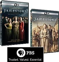 Jamestown: Complete Set of Seasons 1, 2 & 3 PLUS Bonus PBS Sticker