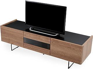LOWYA TVボード テレビ台 テレビボード ローボード 国産 幅150cm 50型 シャビーナチュラル