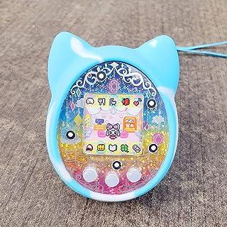 Walmeck- Cubierta Protectora Shell Funda de Silicona Cubierta de la máquina de Juegos para Mascotas para Tamagotchi Máquina electrónica de Juegos para Mascotas de Dibujos Animados