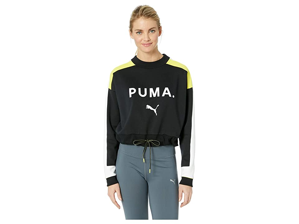 d766405dd6b PUMA Chase Crew (PUMA Black) Women s Clothing