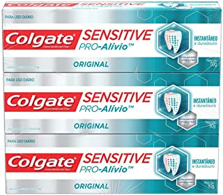 Creme Dental Colgate Sensitive Pro-Alívio 110g 3 unidades