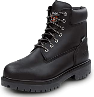Timberland PRO 6-inch Direct Attach Men's Black Steel Toe Boot