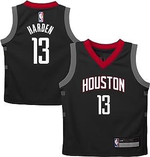 sale retailer 1eef4 f7766 Outerstuff James Harden Houston Rockets  13 Black Kids Replica Alternate  Jersey