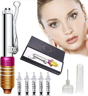 Hyaluronzuur pen met 5 ampul hoofdmassage verstuiver pen kit hogedruk hyaluronzuur pen spuit voor het verwijderen van rimp...
